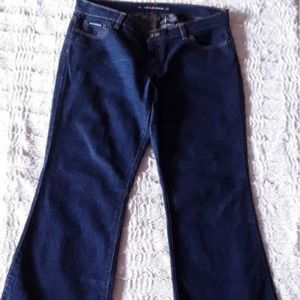 DKNY Dark Blue Time Square Flare Jeans Size 13